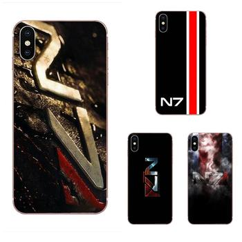 Greatest Mass Effect N7 Armour Soft Popular Hot For Galaxy Grand A3 A5 A7 A8 A9 A9S On5 On7 Plus Pro Star 2015 2016 2017 2018 image
