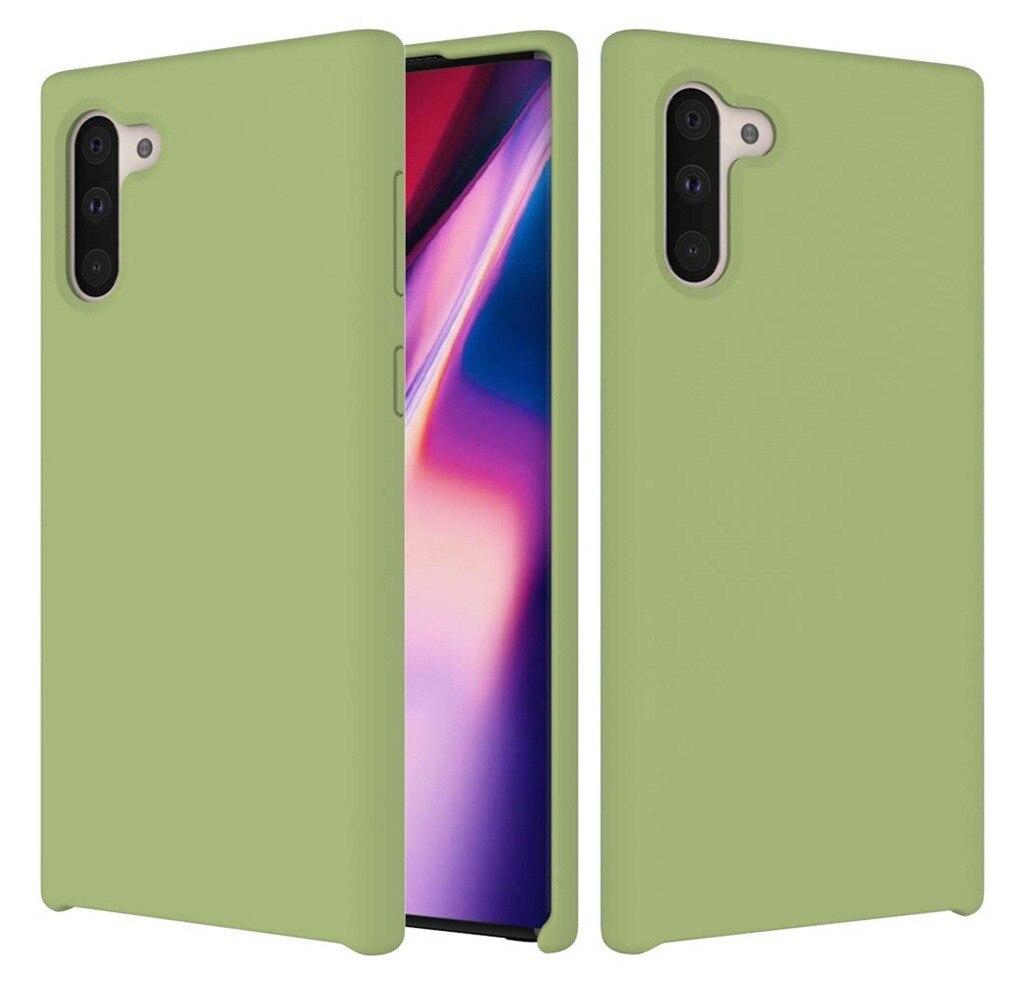 Fashion Phone Case Thin Silicone Leather Soft Case Cover For Samsung Galaxy Note 10 6.3Inch Caja Del Telefono MovilGuahao