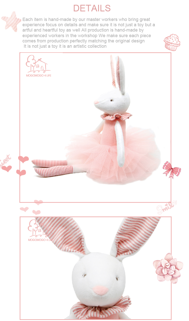兔子粉红裙子_2