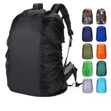 Backpack rain cover Outdoor mountaineering reflective multi-color double shoulder waterproof cover bag dust jacket 20-80 liters huwaijianfeng 2017 new outdoor mountaineering bag cover professional double shoulder cover dust cover backpack