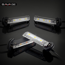 Invisible Wing LED Turn Signal Light For YAMAHA MT07 FZ07 FZ09 FJ 09 MT09/Tracer 900/GT XSR700 XSR900 Motorcycle Indicator Lamp