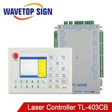 WaveTopSign TL 403CB CO2 לייזר בקר מערכת עם תוכנת Coreldraw להשתמש עבור לייזר חריטה ומכונת חיתוך