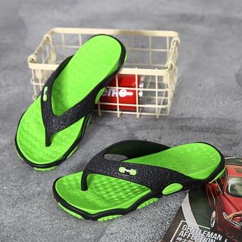 2020 Summer Men Sandals Bathroom Slippers Fashion Flip-flops Sandals Breathable Outdoor Beach Sandals MEN'S Sandals mens sandals фото