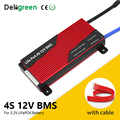 Deligreen BMS 4S 12V 80A 100A 120A 200A PCB BMS для 3,2 V LiFePO4 Аккумуляторный блок 18650 литиевая батарея
