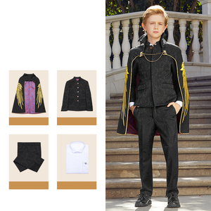 Image 4 - Suit To Boy Elegant Boys Suits For Weddings Party Costume Enfant Garcon Mariage Brothers Of The Groom Dresses Conjunto Menino
