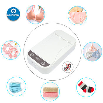 Sterilizer Tray Disinfection Box UV Sterilizer For Jewelry Watch Phone Cleaner Sanitizer Nano Coating Machine Mask Disinfector