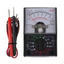 Multímetro analógico elétrico MF-110A, voltímetro portátil, amperímetro, medidor de tensão ac/dc dc
