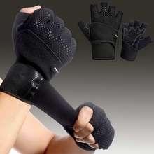 1 пара, перчатки с обрезанными пальцами, противоскользящие Спортивные Перчатки для фитнеса M88