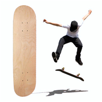 8-Layer Maple Blank skateboard Double Concave 8inch Skateboards Natural Skate Deck Board Skateboards Deck Wood Maple Longboard