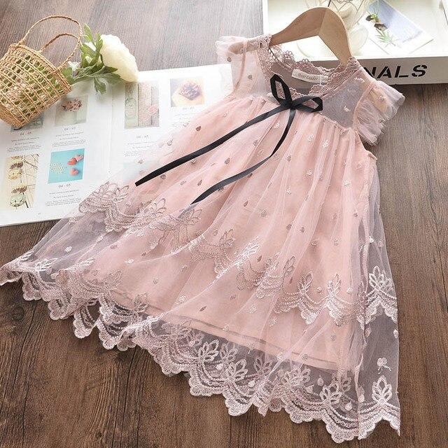 Купить кружевное платье для девочки bear leader летнее праздничное картинки цена