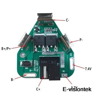 Image 2 - 3S BMS 12V 10A Batterie Schutz Bord PCM DC Elektronische Werkzeuge 18650 Lipo Li Ion Lithium Ladegerät Batterie BMS circuit Board PCB