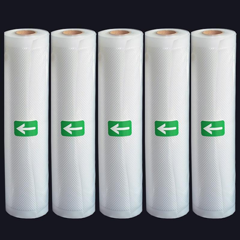 Vacuum Bags For Food Vacuum Sealer Storage Bags 12/15/20/25/28cm*500cm For Vacuum Packing Sealer 5 Rolls/Lot