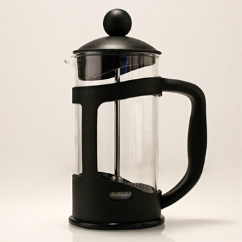 French Press Coffee/Tea Brewer Coffee Pot Coffee Maker Kettle 350ML Stainless Steel Glass Barista Tools Coffee Carafe 4