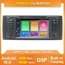 Android 10.0 reprodutor de dvd do carro para bmw e53 e39 x5 quad core rádio do carro auto multimídia estéreo buit em carplay com dsp wifi bt swc