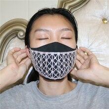 Шикарные Стразы роскошная маска для лица ювелирное изделие сексуальная