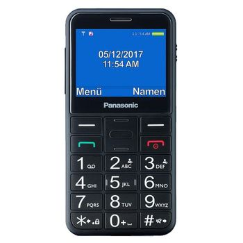Mobile telephone for older adults Panasonic Corp. KX-TU150 TFT LCD Dual SIM Black