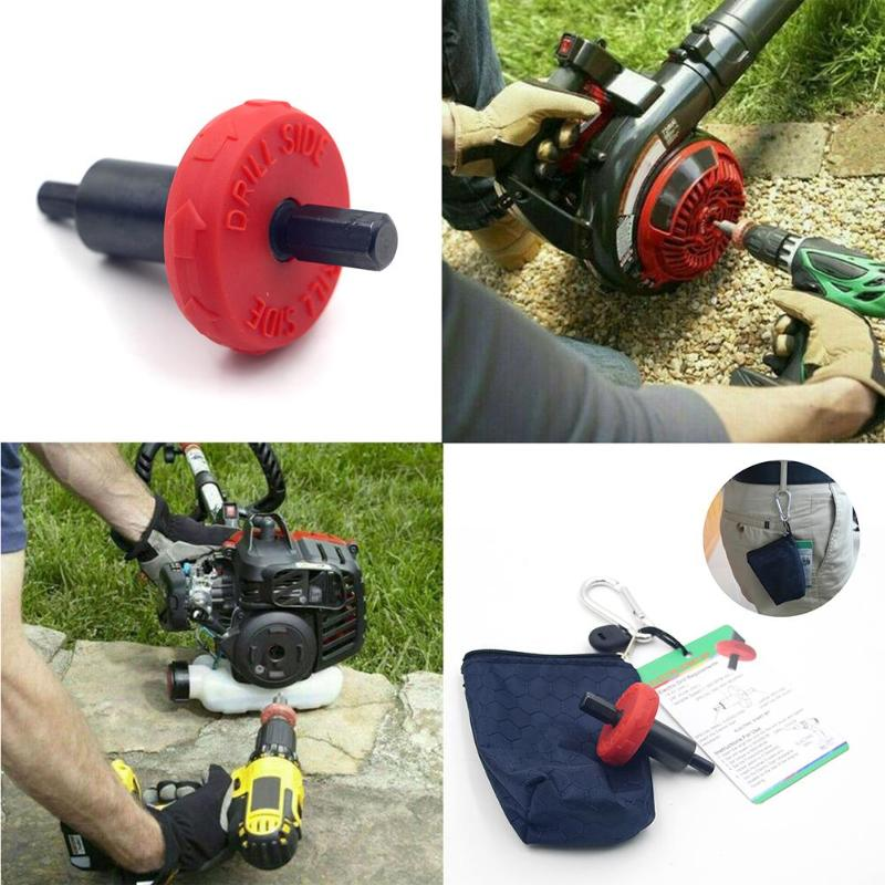 Electric Engine Starter Garden Lawn Mower Brush ABS And Alloy Practical And Durable Cutter Starter Spare Parts 66X38X38mm