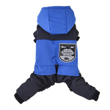 Warm Pet Dog Clothes Winter Dog Jumpsuit for Puppy Outfit Clothing Small Dogs Chihuahua Shih Tzu Pet Coat Jacket ropa para perro cartoon funny christmas dog clothes for small dogs winter coat french bulldog jacket chihuahua shih tzu outfit puppy pet clothes