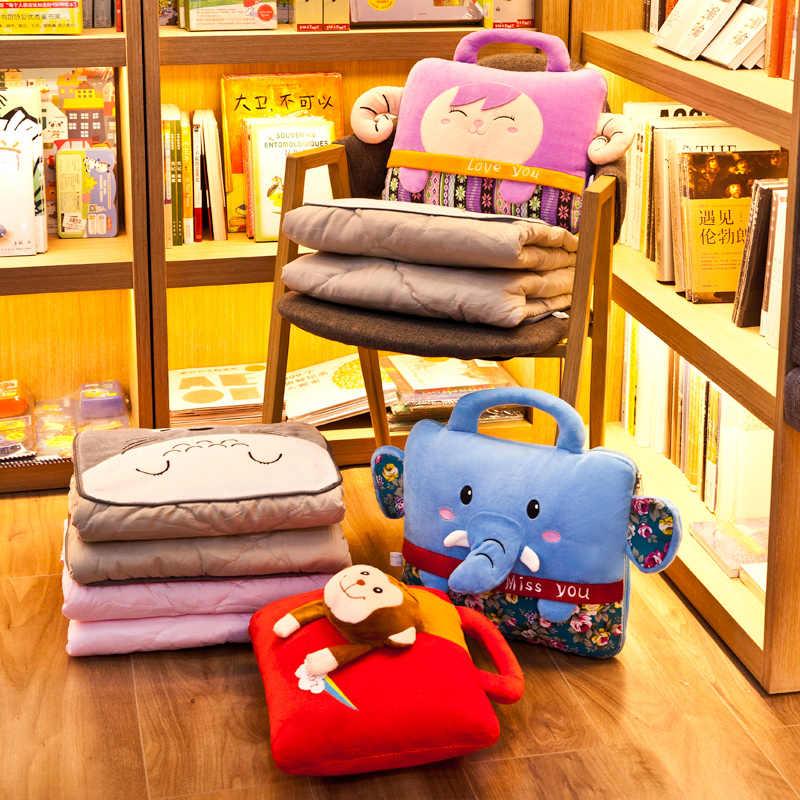 漫画背もたれ枕ベッドクッション枕デュアル目的子供の寝室の空調毛布車 Cojin オフィス FK200