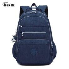 TEGAOTE Brand Laptop Backpack Women Travel Bags 2017 Multifu