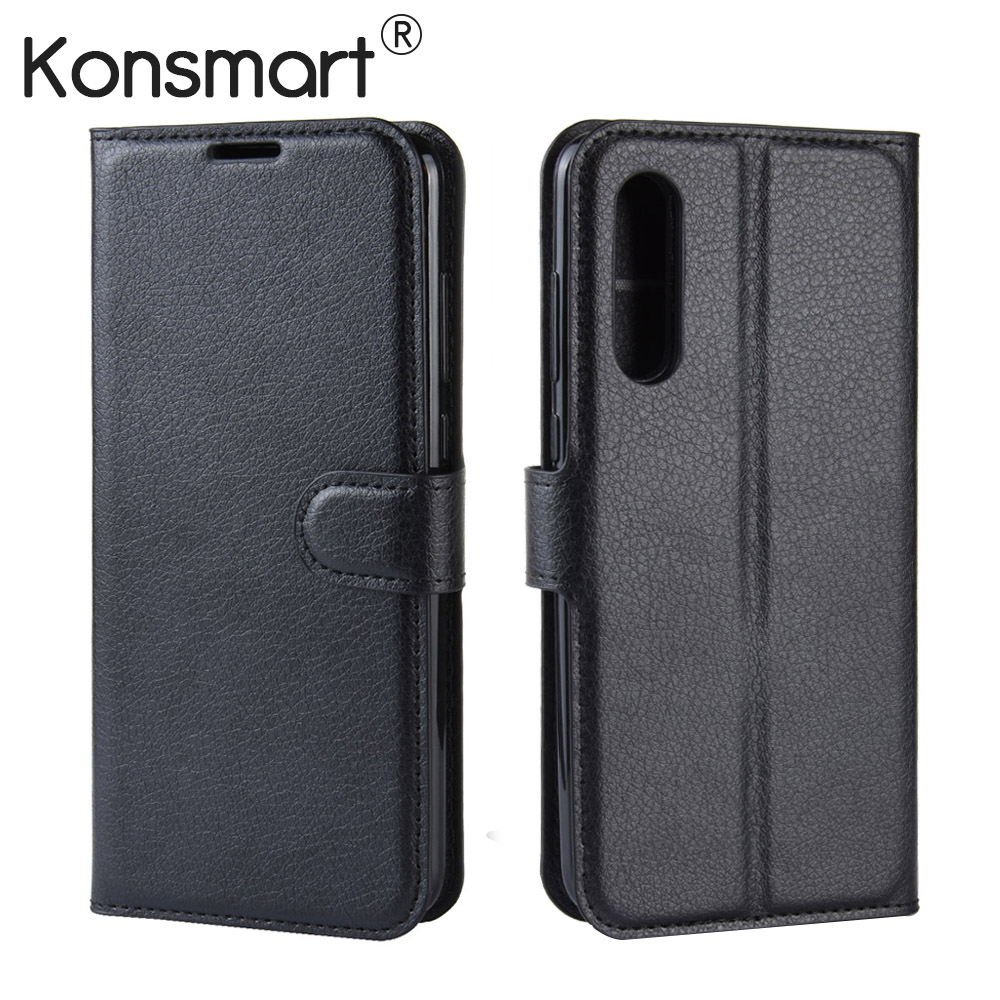 2019 New Leather Phone Cover Mi 9 Case Flip Book Case For Xiaomi Mi 9 SE 9SE 6/64GB 128GB Mi9 Cases KONSMART image