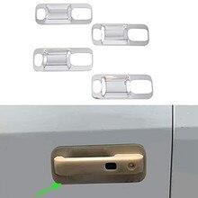 Porta exterior do carro tigela capa guarnição para ford f150 2016-2019 acessórios abs chrome decorativa capa guarnição