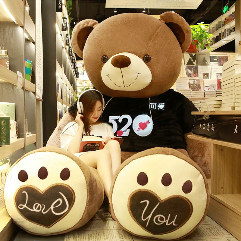 2019 New Huge Size USA Giant Bear Skin Teddy Bear Hull Quality Bear Skin Birthday Christmas Gift For Girls Baby