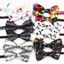 Комплект музыкальных галстуков бабочек для родителей и детей