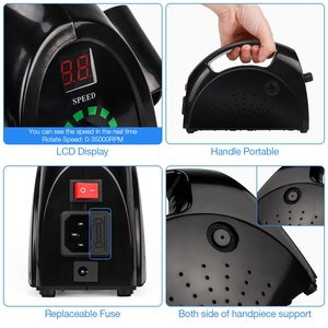 Image 5 - Sterke 65W 35000Rpm Electric Nail Boor Manicure Machine Pedicure Gereedschap Accessoires Boren File Molen Voor Manicure Nail gereedschap
