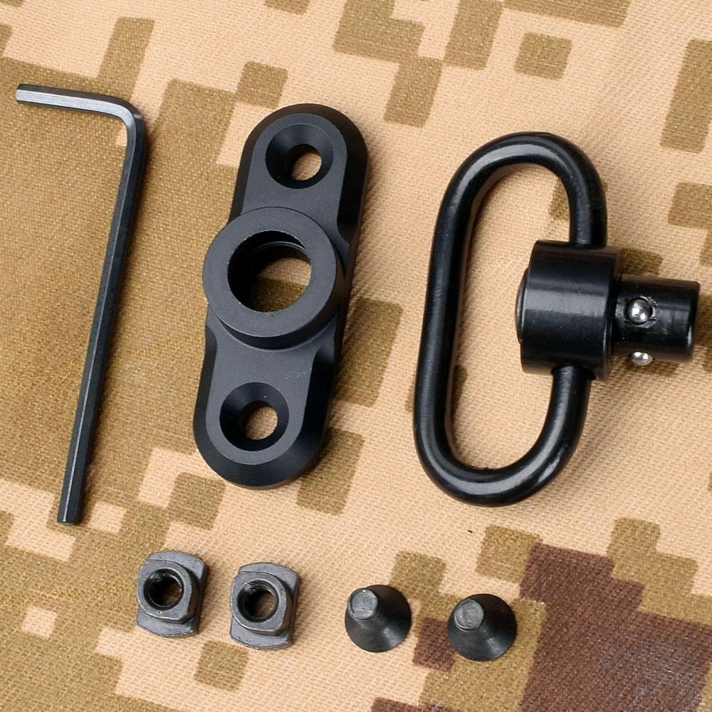 1pc / Set MLOK Standard QD Sling Swivel Adapter Rail Mount Tools Kit