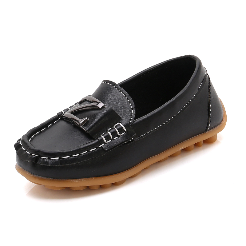 Boys Soft-Leather Candy Shoes