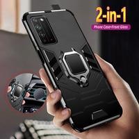 Funda para Huawei Honor X10 9X Premium 9C 9A 9S 8X Max 8A 7A 7C Pro 6X STK-LX1 AUM-L29 AUM-L41 armadura a prueba de golpes de la cubierta del teléfono de Coque