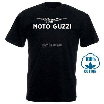 Funny Men T Shirt White T Shirt Tshirts Black Tee Motorcycles Moto Guzzi Eagle Men'S Short Sleeve Grey T Shirt Round Neck Tops
