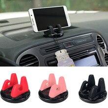 Auto Telefon Halter Steht Rotierenden Klebstoff Unterstützung Silikon Tisch Anti Slip Montieren Mobile GPS Einstellbare Halterung Universal Auto