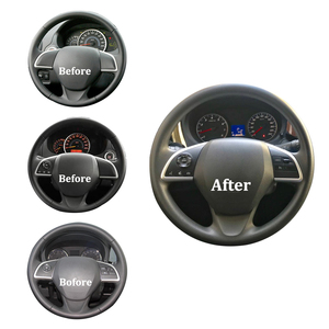 Image 2 - For Mitsubishi Outlander 2013 2014 2015 2016 2017 2018 Cruise Control Switch Steering Wheel Button Audio Android Player Switches