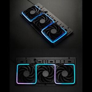 Image 4 - PHANTEKS ARGB Light Strip DIY Shape Decoration LED Strip 5V3Pin AURA 40/55/100CM Water Cooler Custom Lighting MOD Adjustable LED