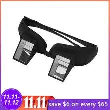 Óculos preguiçosos criativos, periscope para leitura horizontal, óculos de visão para sentar na cama, berço, prisão, óculos preguiçosos 2020
