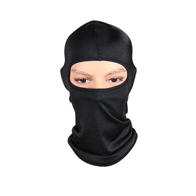 Black Face Mask Motorcycle Balaclava Tactical Face Shield Mascara Ski Mask Cagoule Visage Full Face Mask Gangster Mask 1