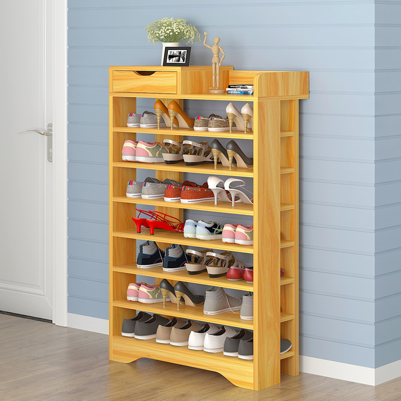 VIP Doorway Shoe Rack Multi-functional Simplicity Household Dustproof Storage Rack Economical Assembly Multilayer Small Shoe Cab