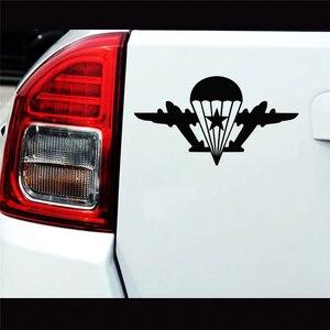 CS-220#11*20см ВДВ со звездой без парашютиста  водонепроницаемые наклейки на авто наклейки на машину наклейка для авто автонаклейка стикер