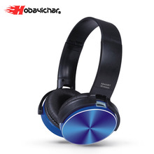 Hobayichar Wireless Headphones Gaming Headset Stereo foldable Sport Earphone Microphone Gaming Cordless Auriculares Audifonos