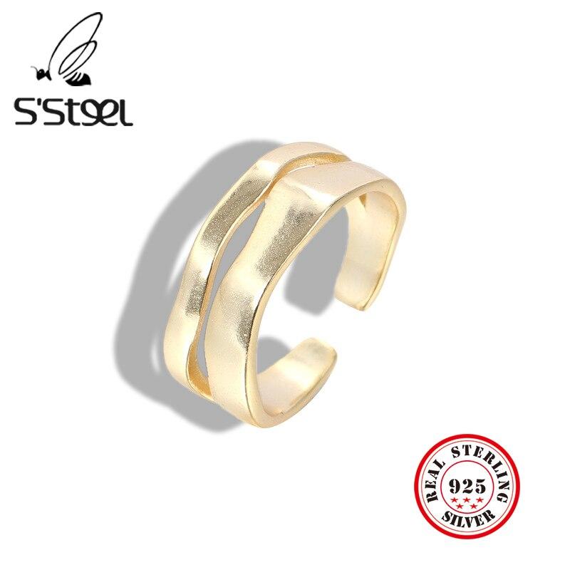 Купить женское кольцо с геометрическим рисунком из серебра 925 пробы