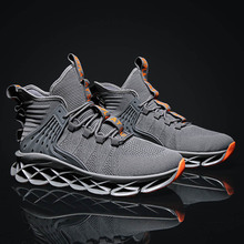 High Top Running Shoes for Men Blade Sports Shoes