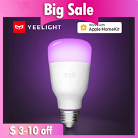 Xiaomi Aqara Yeelight Smart LED Bulb Colorful Lemon Xiomi Smart Lamp For Mi Home App White/RGB Option with Apple HomeKit|Smart Remote Control| |  -