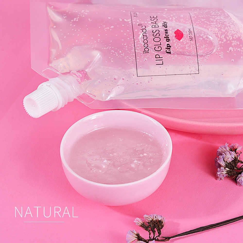 DIY Jelas Lip Gloss Basis Gel Pelembab Lipstik Bahan Gel untuk DIY Lip Gloss Membuat Kit Buatan Tangan Lipstik Makeup