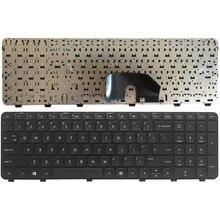 لوحة مفاتيح كمبيوتر محمول أمريكية ل جناح HP DV6 DV6T DV6 6000 DV6 6100 DV6 6200 DV6 6b00 dv6 6c00 الأسود الإنجليزية NSK HWOUS أو 665937 251