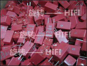 Image 3 - 10PCS אדום חדש WIMA MKS2 63V 2.2UF PCM5 2u2 2200nf 2.2U63V מכירה לוהטת 225/63V