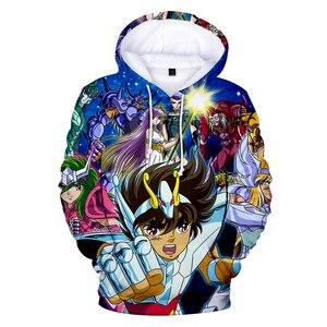 Image 4 - Saint Seiya 3D Hooded New Cartoon Sweatshirt Men Women Fashion 3D Hoodie Saint Seiya Hoodie Casual Sun Jumper