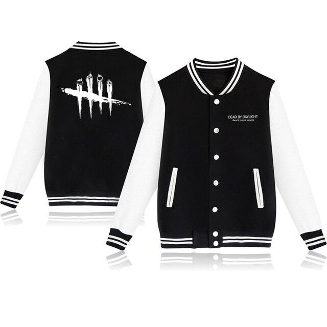 Unisex Fashion Baseball Jacket Dead By Daylight Baseball Uniform  Harajuku Sportswear Boys Girls Lovely Cotton Jackets Clothes 1