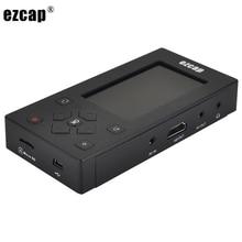 """Ezcap Аудио Видео Захват конвертер AV рекордер VHS ленты к цифровой 8 Гб памяти """" экран для видеомагнитофона DVD видеокамера игровая консоль"""